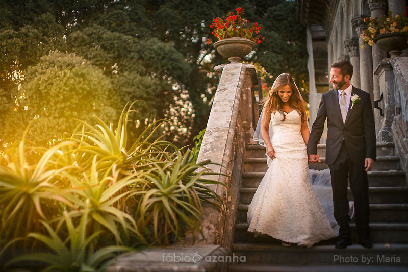 Monserrate Palace Sintra Wedding