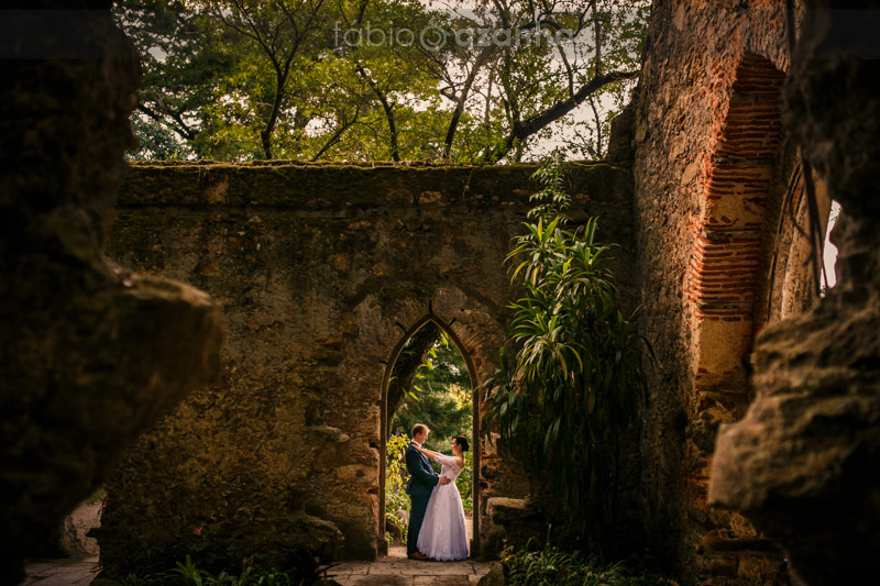 Portugal Elopement in Monserrate Palace