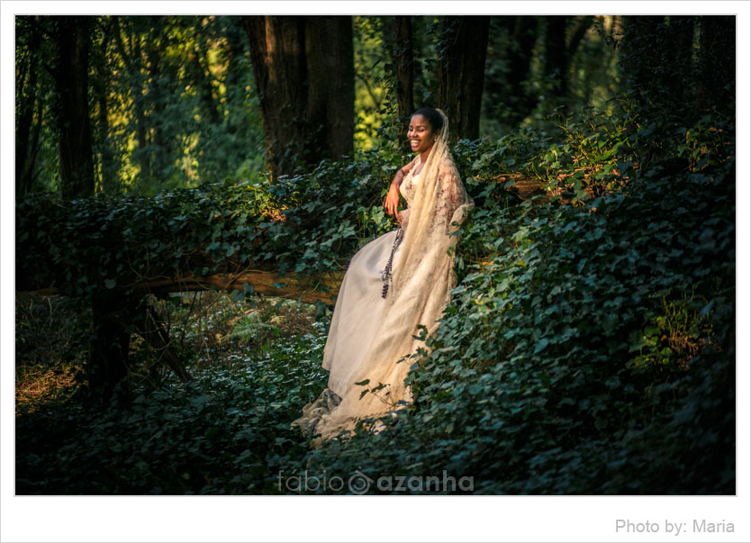Trash the Dress Angola, Noiva Angolana